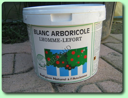 le blanc arboricole les traitements biologiques du jardin. Black Bedroom Furniture Sets. Home Design Ideas
